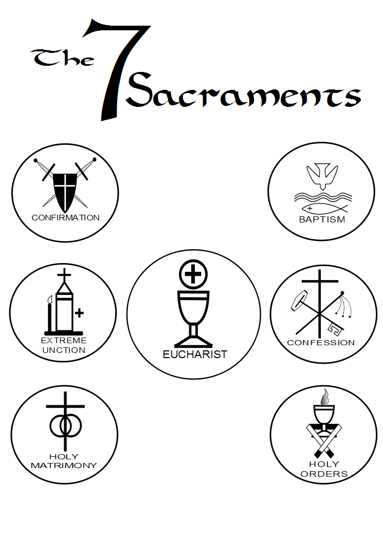 the 7 catholic sacraments