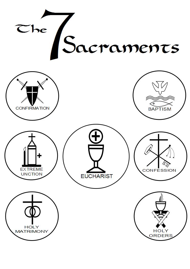 ALL SAINTS: 📜 The 7 Sacraments (The Mysteries)