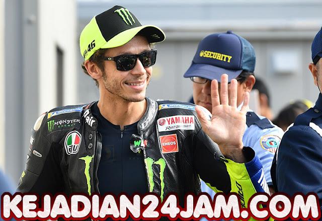 Rider Valentino Rossi Pembalap Pertama Yang Terjangkit Covid-19