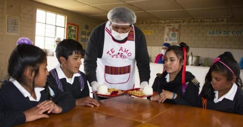 QALI WARMA: Estudiantes de Jornada Escolar Completa de Yacus mejoran su aprendizaje con alimentación del Programa Social - www.qaliwarma.gob.pe