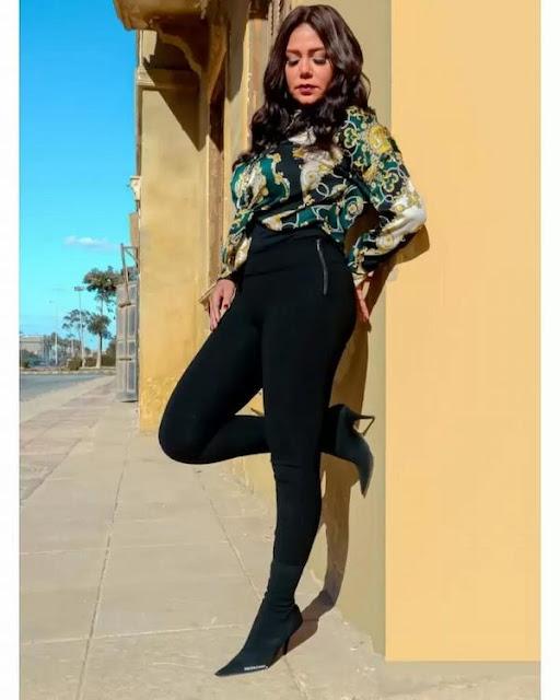 رانيا يوسف تثير ضجة في احدث جلسة تصوير لها