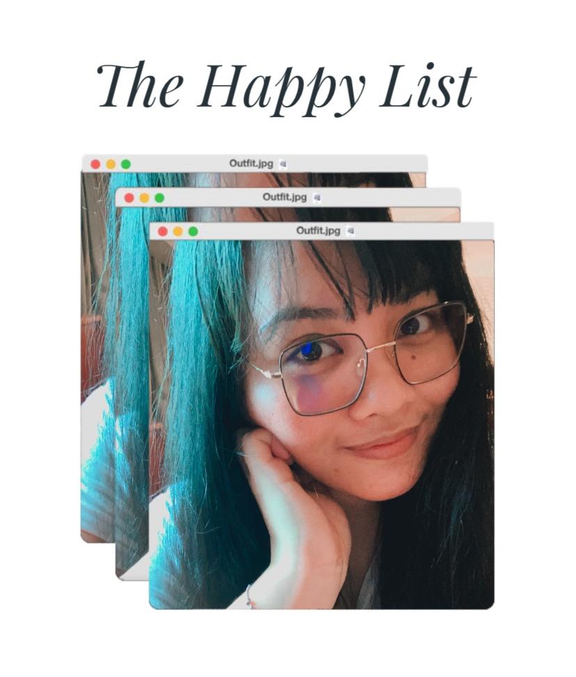 The Happy List Vol. 08 - Renee Alexis