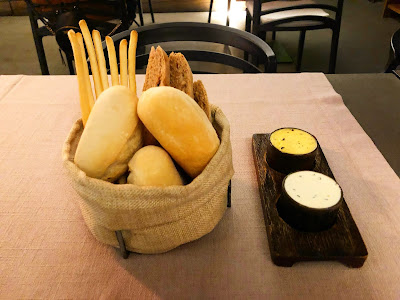 Bread assortment from Carnal in Santiago, Chile