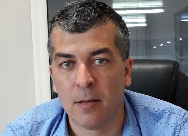 Ο επιχειρηματίας, ιδιοκτήτης της εξαγωγικής εταιρείας Midea Fruit Τάσος Σιατερλής στο συνδυασμό ''Ναύπλιο.Επόμενη Μέρα''