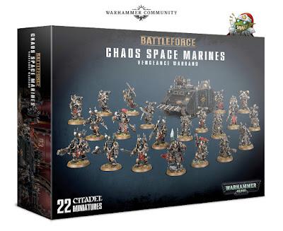 Battleforce Marines del Caos