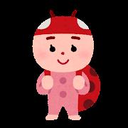 テントウムシのキャラクター(虫)