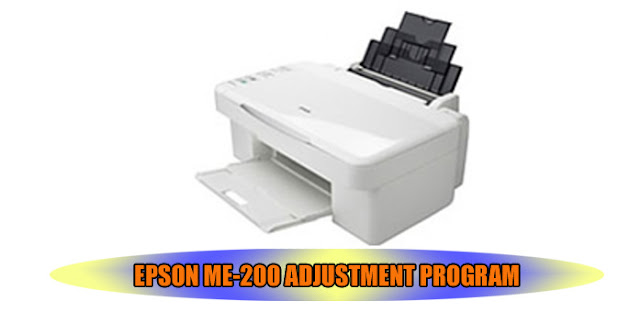 EPSON ME-200 PRINTER ADJUSTMENT PROGRAM