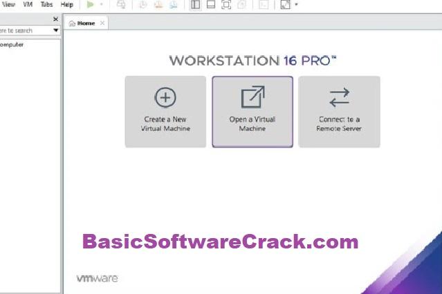 VMware Workstation Pro v16.1.1 Build 17801498 (x64) With Crack
