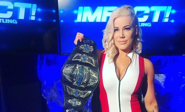 Knockouts Championship muda de mãos nas gravações do IMPACT Wrestling