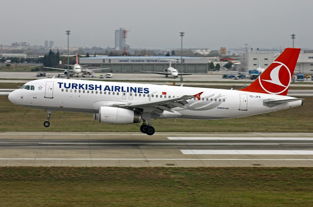 Turkish Airlines TC-JPA Airbus A320-232