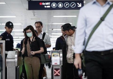 Dishut Jakarta Tingkatkan Upaya Pencegahan Penularan Virus Corona Pada Transportasi Publik