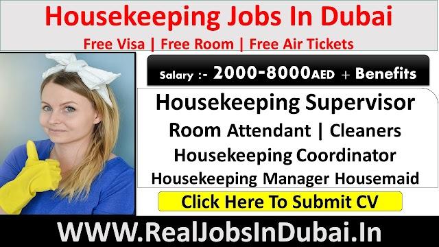 Housekeeping Jobs In Dubai, Abu Dhabi & Sharjah - UAE