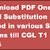 Download PDF One word Substitution Asked in various SSC Exams till CGL T1 2016