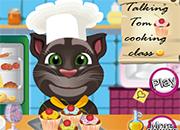 Talking Tom clase de cocina