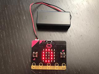 Timer clock Microbit