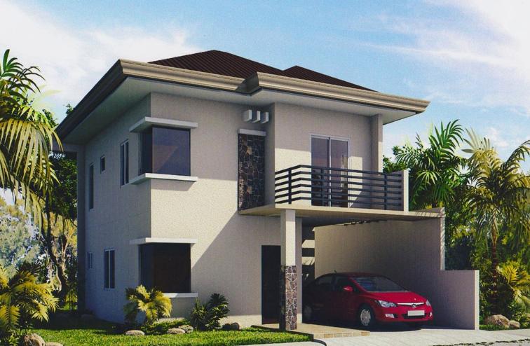 model rumah 2 lantai modern - kumpulan gambar desain rumah minimalis 2 lantai
