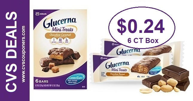 Glucerna Mini Treats CVS Deal 7-12-7-18
