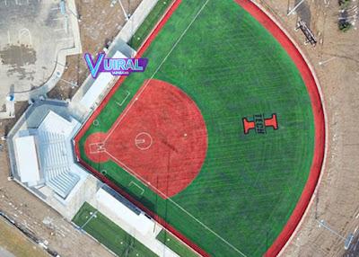 Contoh Gambar Bentuk Lapangan Softball