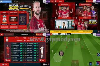 DLS 2020 Mod Full Transfer Skuad Bali United 2020/2021