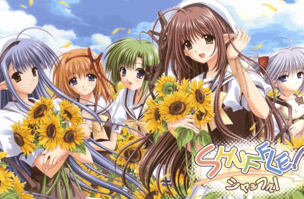 Shuffle! - Top Fantasy School Anime List