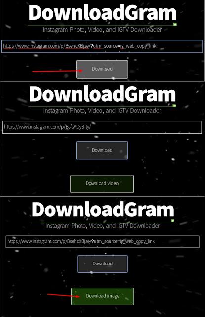 Cara Download Foto Video IGTV Di Instagram Cara 3 - Via PC/Laptop