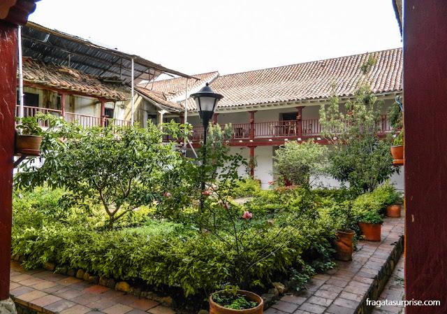 Claustro da Igreja de San Francisco, Villa de Leyva, Colômbia