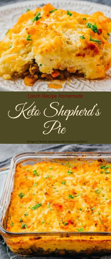 Keto Shepherd's Pie #recipe #dinner