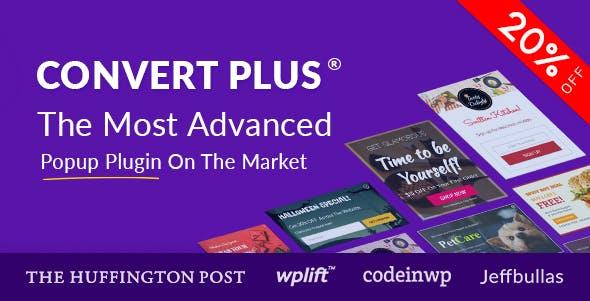 ConvertPlus v3.5.19 - Popup Plugin For WordPress
