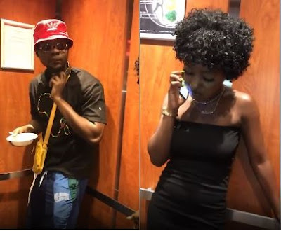 """A Lady Asks For Kizz Daniel's """"Dic"""" In The Elevator, See His Reaction (VIDEO)"""