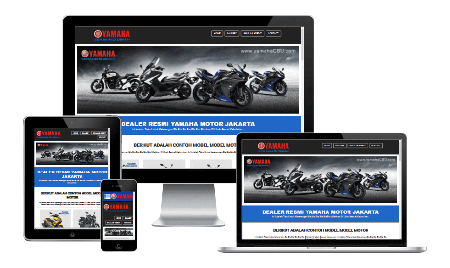 Yamaha Dealer Landing Page Builder