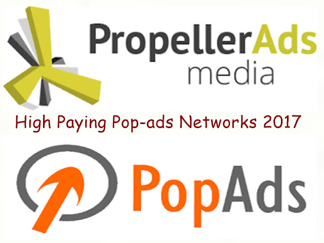 Best High paying Pop-ads networks 2017 with Fast Approval