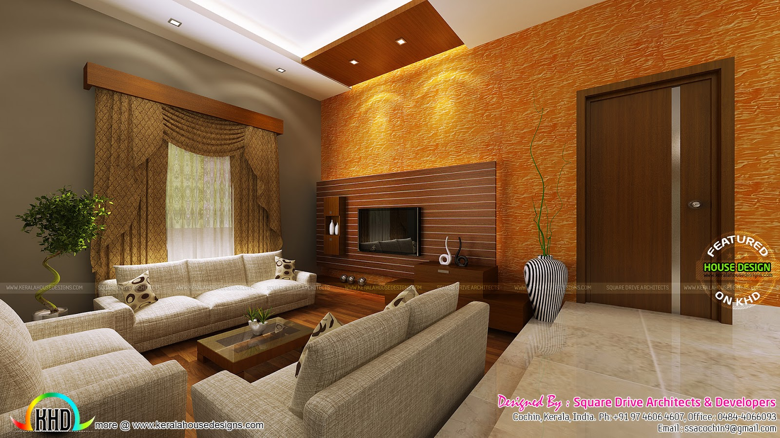 Sunken Seating And Other Home Interior Ideas: Stunning Home Interiors In Cochin