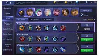 Build Tersakit Hero Wanwan Terbaru Mobile Legend