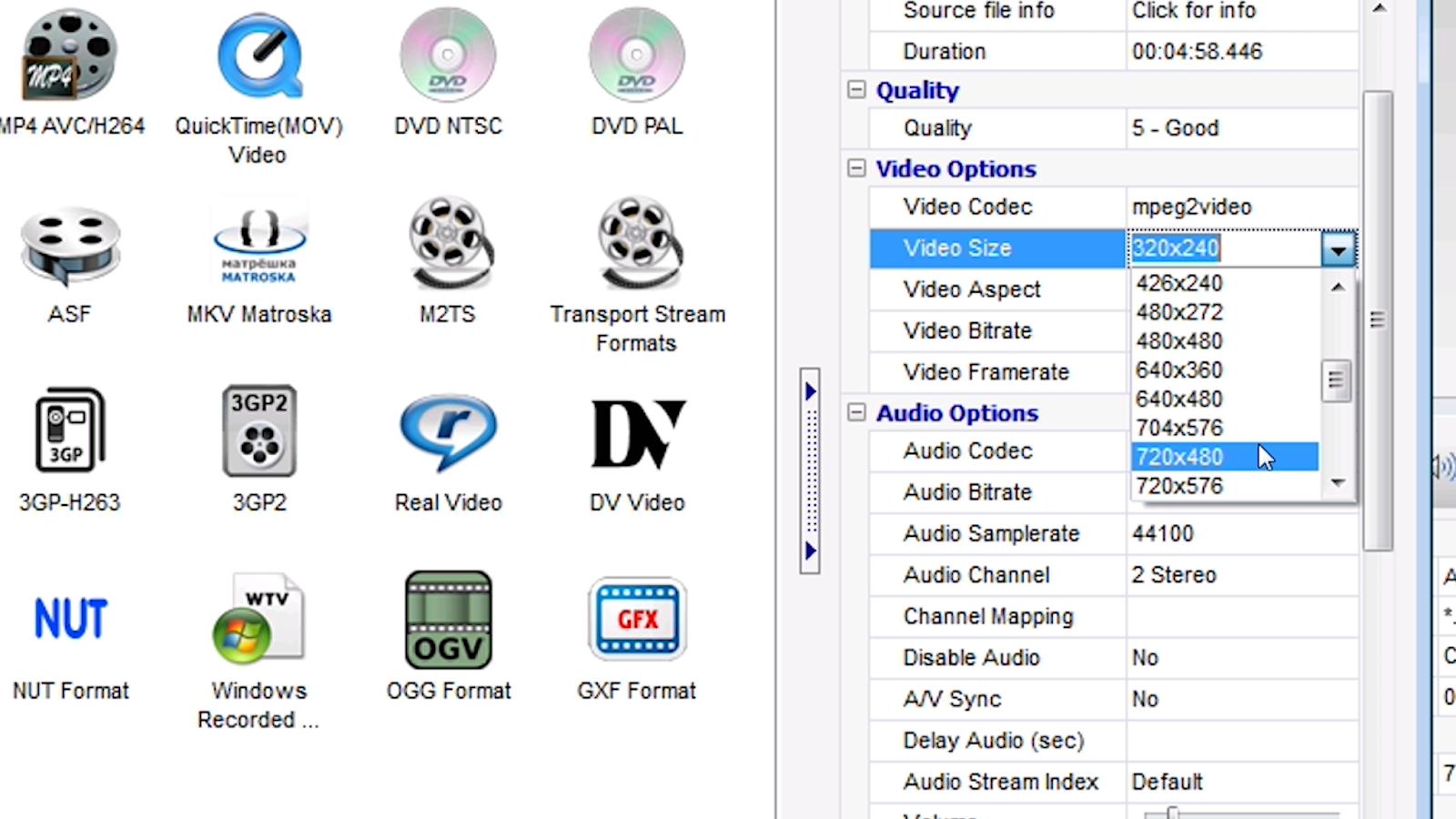 format video yang bisa diputar di head unit mobil