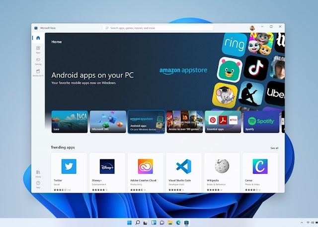 Windows 11 ejecutará aplicaciones de Android en tu PC