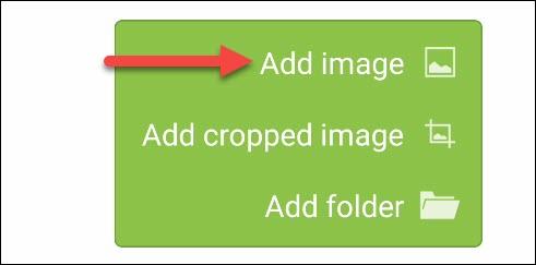 """اضغط على """"إضافة صورة""""."""