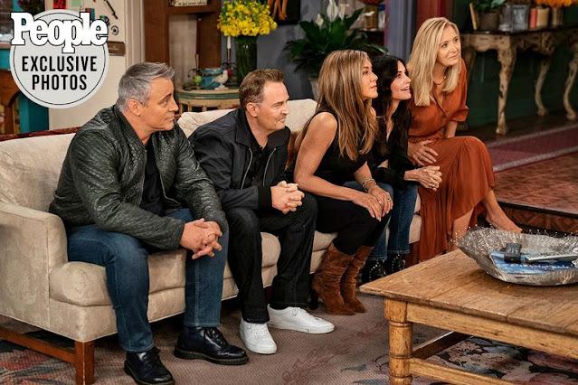 """Te mostramos las primeras imágenes de la reunión más esperada de la televisión: """"Friends, The Reunion"""""""