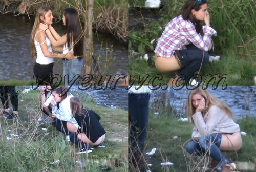 Girls Gotta Go 06 (Spanish Outdoor Voyeur Pissing)