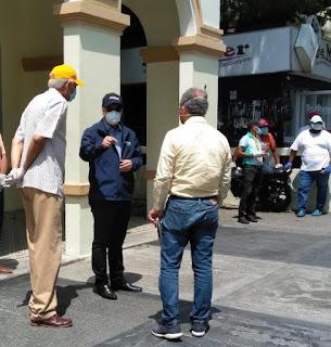Gonzalo visita San Cristóbal y Haina para coordinar acciones con autoridades contra el COVID-19