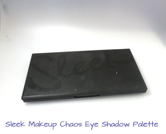 Sleek Makeup Chaos Eye Shadow Palette Swatches
