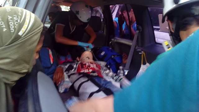 Reportan un manifestante herido en Altamira