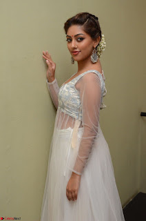 Anu Emmanuel in a Transparent White Choli Cream Ghagra Stunning Pics 049.JPG