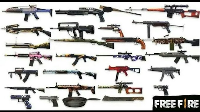 Best And Powerful Gun Combination In Garena Free Fire