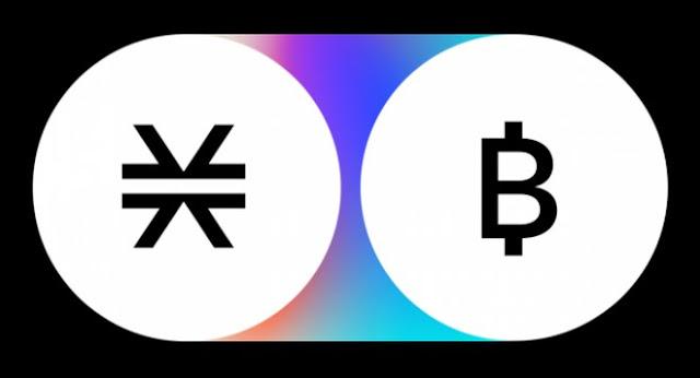 Ilustrasi Gambar Bitcoin dan Stacks