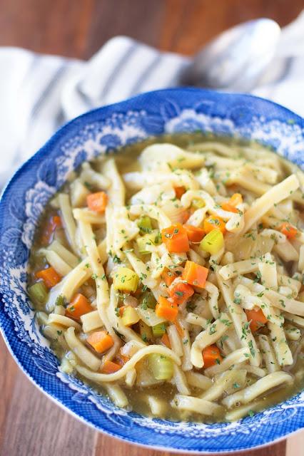 Vegan Homemade Noodle Recipe