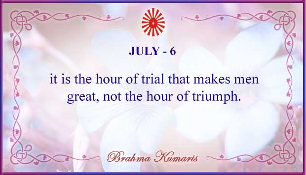 Thought For The Day July 6