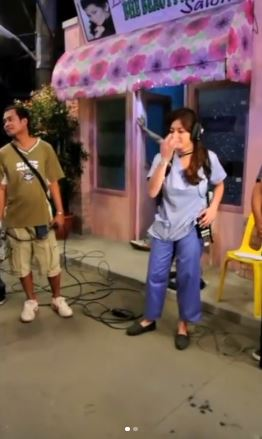 Angel Locsin Showed A Priceless Reaction When Given The Chance To Try Directing A Scene In A TV Series!