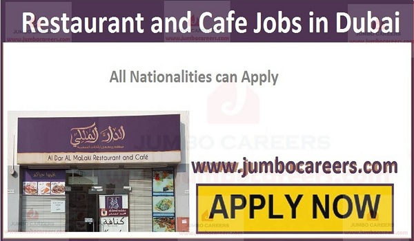 Latest Restaurant and Cafe Jobs in Dubai