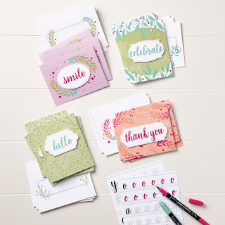 Stampin' Up! Quick Cards: Calligraphy Essentials Kit