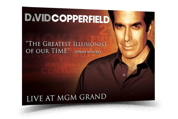 David Copperfield - Best Magic shows in Las Vegas
